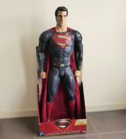 Superman Man of Steel 31 Inch Giant Size Action Figure! New in Box, Made 2013