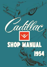 CADILLAC 1954 WORKSHOP MANUAL