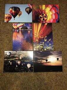 Six Colorful Postcards From Colorado Balloon Classic -Hot Air Balloons Co Sprgs