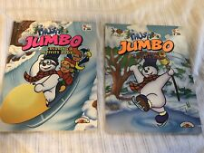2 Landoll's 1996 Frosty Jumbo Coloring And Activity Books. Never Used