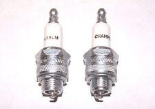 2 Pack Champion Spark Plug RJ19LM
