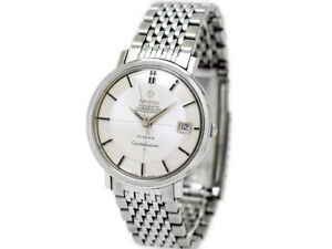 OMEGA Constellation 168.004 TURLER W Name Automatic Vintage Watch 1967's OH