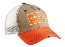 Airflo Trucker Baseball Fishing Caps Orange or Grey