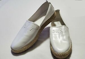 DKNY Espadrille Flats US Size 11M Jute and Rubber Sole