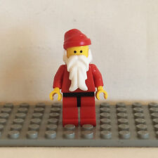 NEW LEGO Holiday Minifigure - SANTA red legs with black hips