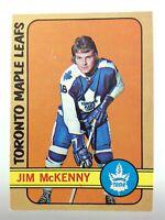 1972-73 Jim McKenny Toronto Maple Leafs 83 OPC O-Pee-Chee Hockey Card P097