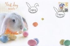 Finland 2016 FDC - Very Cute Easter Bunny - Feb 26, 2016