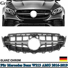 KÜHLERGRILL GLANZ CHROM E63-VARIANTE GRILL FÜR MERCEDES E-KLASSE W213 S213