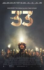 THE 33 Movie Poster - Medium 11x17 Movie Print - Antonio Banderas Phillips