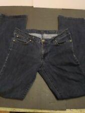 Jessica Simpson Rockin' Curvy Boot Women's Size 30 Dark Wash Blue Denim Jeans
