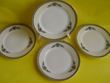 4 NORITAKE VINTAGE SORRENTO BREAD AND BUTTER DISHES EXCELLENT COND.