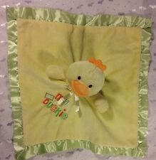 Baby Gear My Little DUCKIE Embroidery Security Blanket Lovey DUCK  Yellow