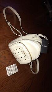 Brand New Furla Pearl White Mini Backpack