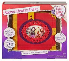 MATTEL Ever After High - Secret Hearts Diary Password Journal NEW Electronic Toy
