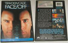 FACE OFF JOHN WOO TRAVOLTA CAGE PARAMOUNTA REGION 1 NTSC DVD
