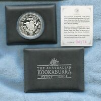 1993 $1 1oz Silver Kookaburra with Opera House Privy Mark Proof Coin Australia