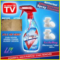 TOP !!! Multifunctional Effervescent Spray Cleaner V Clean Spot 10 or 20 Pcs/Set