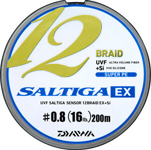 Daiwa 19 Saltiga 12 Braid EX Super PE Fishing Line