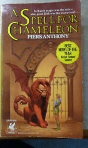 A SPELL FOR CHAMELEON -PIERS ANTHONY-DEL REY- 1980