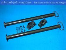 2 Stützen & 2 Klemmhalter für Anhänger, Trailer, Caravan 60 cm