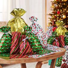 40PCS Drawstring Wedding Gift Wrap Bags Christmas Xmas Packing Kids Gift Bag AU