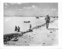 (060) Vintage USMC Photo Tarawa Operation Offical Photo #5-6