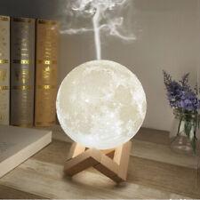 Air Purifier Mist Maker 3D Moon Lamp 880mL Aroma Humidifier  Diffuser