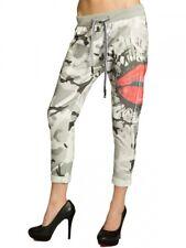 Caspar khs032 señora algodón pantalones deportivos pantalones sweatpants presión boyfriend Style