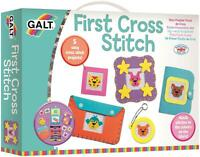 Galt FIRST CROSS STITCH Kids Art Craft Toy BN