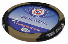 Cruz Azul FC Beige Massage Steering Wheel Cover New With Tags