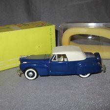 826B Rio 43 Lincoln Continental 1941 bleu 1:43
