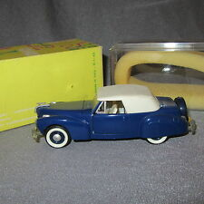 826B Rio 43 Lincoln Continental 1941 blue 1:43