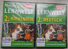 PC-KIDS  Lernsoftware: DEUTSCH + MATHE Meine LERNWELT 2 Klasse