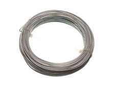Box Of 10 500G In Weight Galvanised Garden Fence Wire  1.6 Mm 30 Metres//