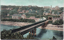 LYON Côteau St IRENEE ( Choulans ) & pont du CHEMIN DE FER sur la SAONE