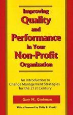 Improving Quality and Performance in Your Non-Profit Organization-ExLibrary