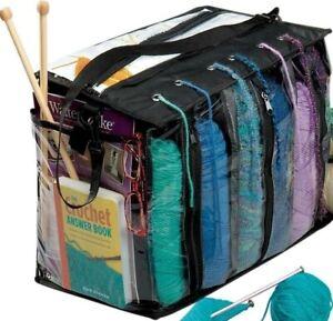 Miles Kimball Knitting Tote Bag