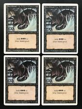 MTG | 4x Dark Ritual | Revised Edition | Old School | Magic Gathering | *Kult