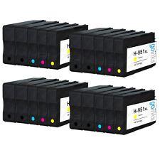 20 Ink Cartridges (Set + Bk) for HP Officejet Pro 251dw, 8100e, 8600 Plus, 8615