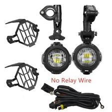 2X For BMW R1200GS F800GS 80W Motorcycle LED Headlight Front Fog Light Lamp Set