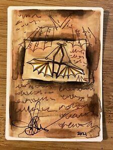 MTG ARTIST PROOF WB 1997 Ornithopter AP Sketch Art Amy WEBER Magic