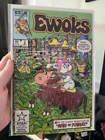 Ewoks #2 (1985 Marvel) VF+ 9.0 Star Wars