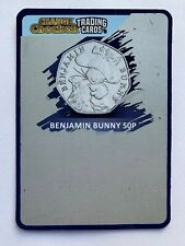 Benjamin Bunny 50p 2017 Coin Change Checker Trading Cards Scratchcard 2020