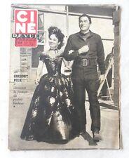 CINE-REVUE 30 mai 1952 GREGORY PECK MARILYN MONROE Bud ABBOTT Lou COSTELLO