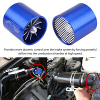 55mm Turbo Cold Air Intake Single Fan Turbonator Supercharger Gas Saver Insert