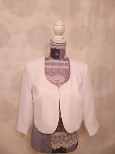 Kaleidoscope  Jacket Blazer size 10     3/4 Sleeve  Cream