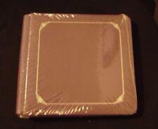 Creative Memories 7X7 Album, Plum/Purple Album W/ Silver Foil W/ Pages- Nip