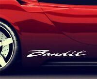 2x Seitenaufkleber Aufkleber Passt Suzuki Bandit Sticker Emblem Logo ER93