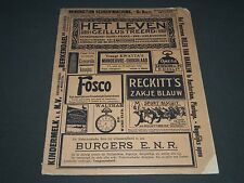 1913 JULY 29 HET LEVEN GEILLUSTREERD DUTCH MAGAZINE - ST 5156