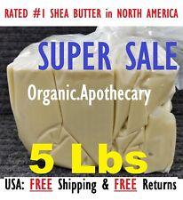 2.3kg Beurre de Karité Africain Ivoire 100% Brut Bio Brut Pure Gros en Gros